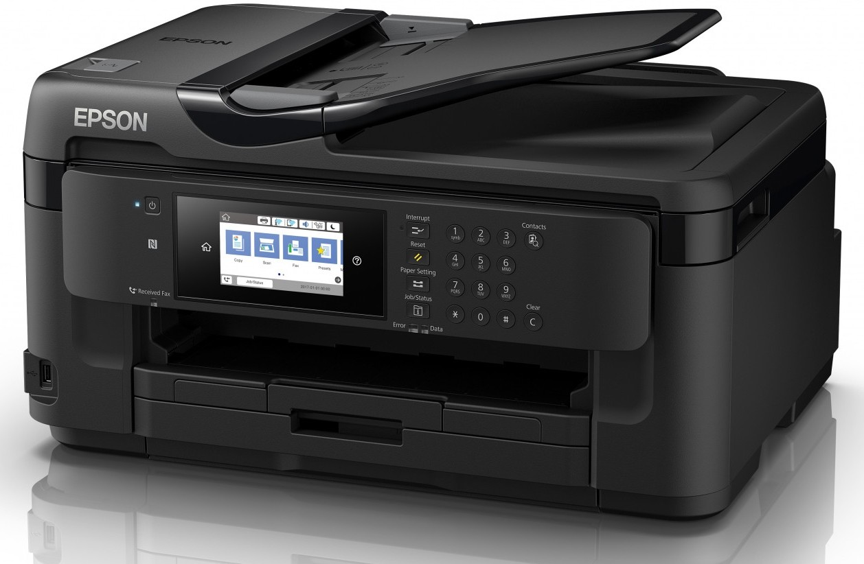 МФУ EPSON WorkForce WF-7710DWF, (принтер/копир/сканер)