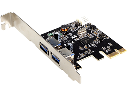 Адаптер Gembird (UPC-30-2P) USB 3.0 PCI-E host adapter