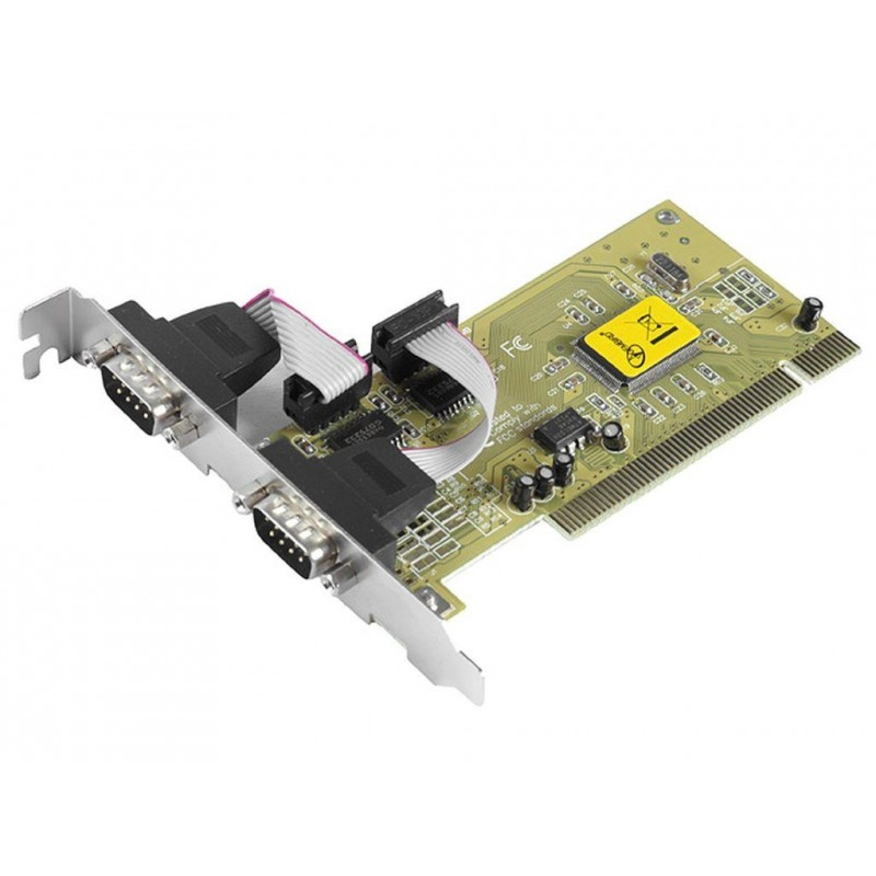 Контроллер Gembird SPC-1 Two serial ports PCI add-on card