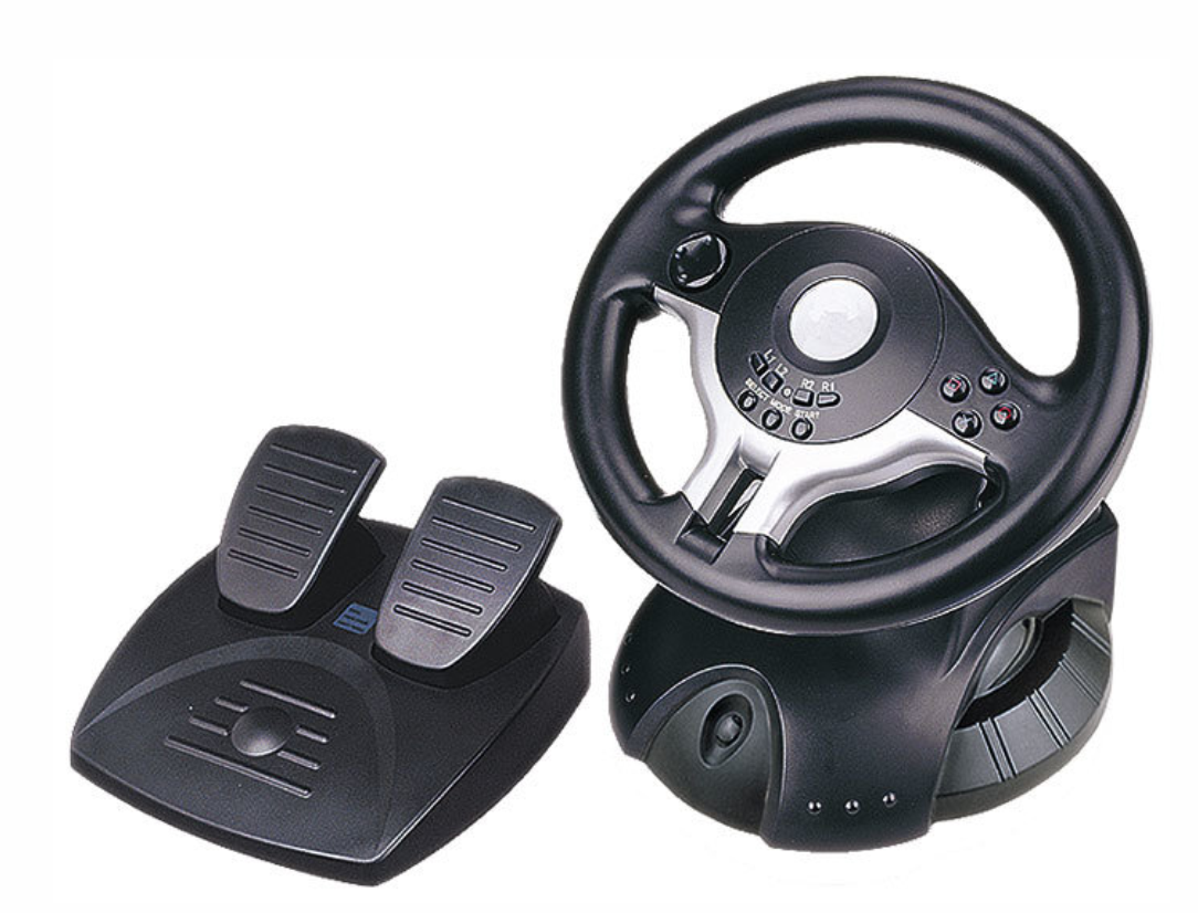Racing wheel Gembird STR-W1-VF, vibration, Wireless